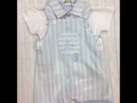 3c9768395 iDO Short Dungaree and Polo Top - Juniors Designer Baby Wear